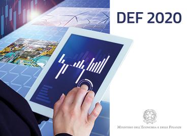 DEF – Documento di Economia e Finanza